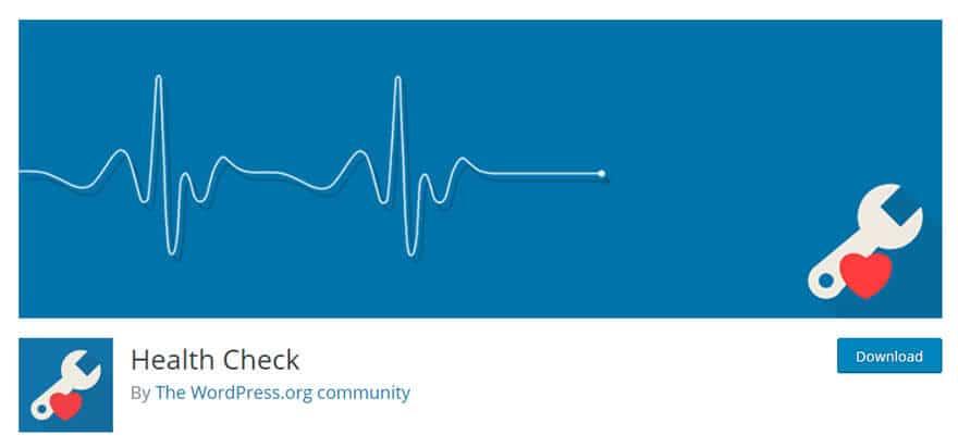 افزونه Health Check