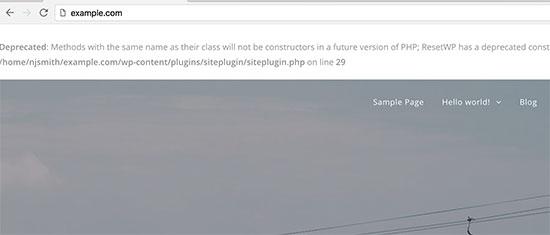 نحوه غیر فعال کردن خطاهای PHP در وردپرس