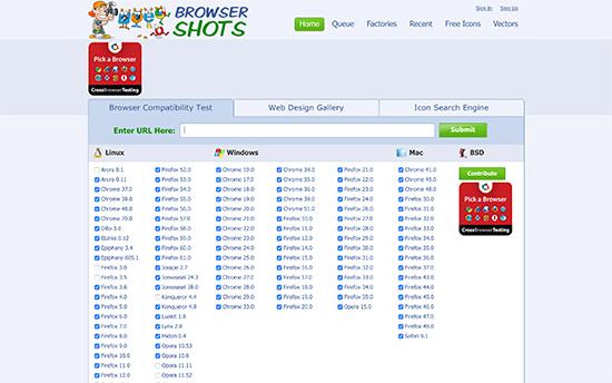 تست کردن سایت وردپرس در مرورگرهای مختلف