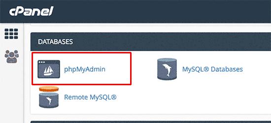 بازیابی رمز عبور وردپرس از طریق phpMyAdmin