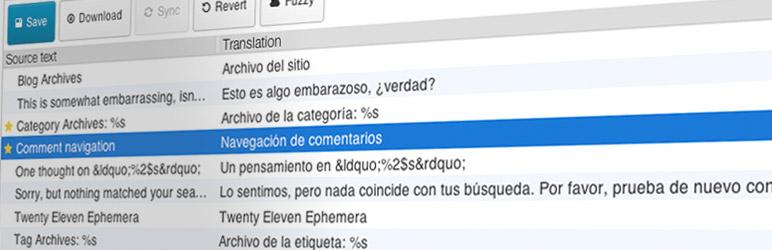 افزونه چند زبانه کردن سایت Loco Translate