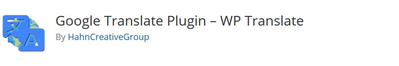 افزونه WP Translate – WordPress Translation Plugin