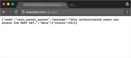 فعال کردن Rest API