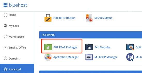 نصب ماژول های PHP موردنیاز