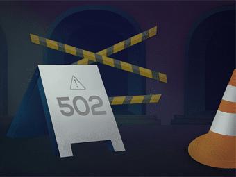 رفع خطا 502 Bad Gateway