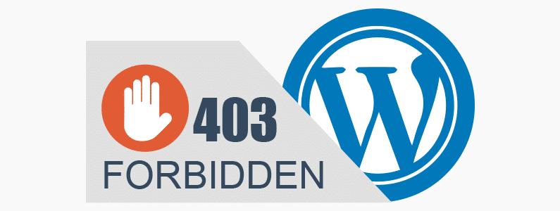رفع خطای 403 Forbidden