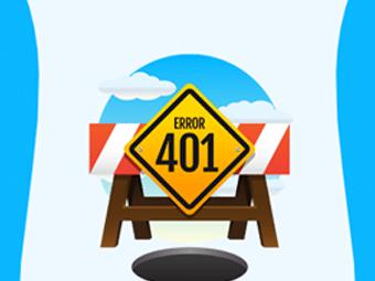 رفع خطای 401 در وردپرس