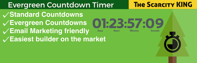 افزونه Evergreen Countdown Timer