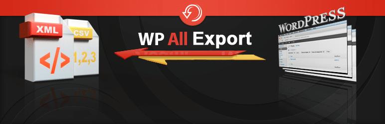 افزونه Export any WordPress data to XML/CSV