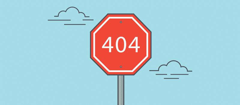 تغییر مسیر خطاهای 404 به صفحه اصلی