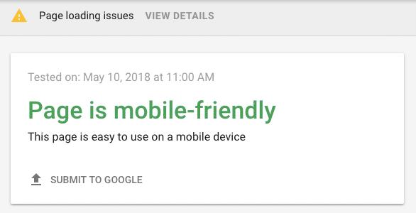 بهینه سازی سایت برای موبایل