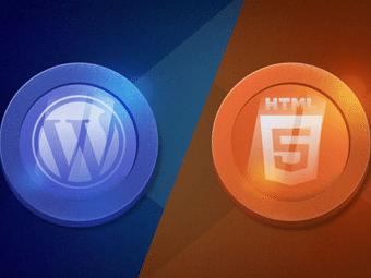 وردپرس یا HTML