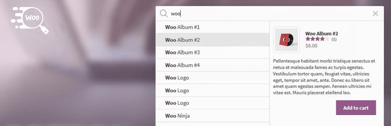 افزونه Ajax Search for WooCommerce