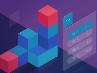 آموزش ساخت منو کشویی با CSS و HTML