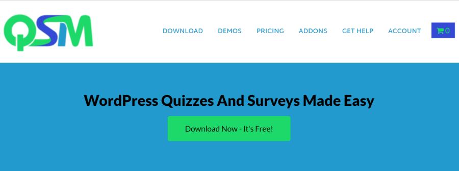 افزونه Quiz And Survey Master