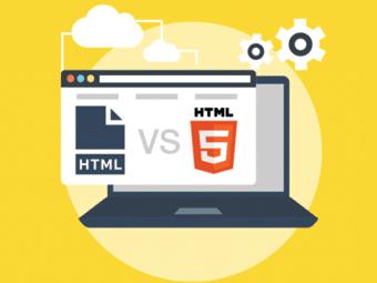 تفاوت HTML و HTML5