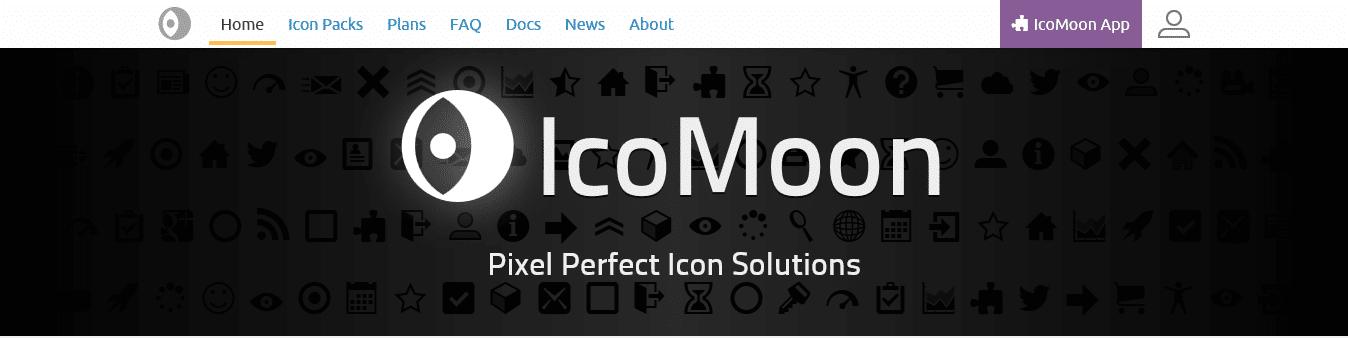 فونت های آیکون رایگان IcoMoon