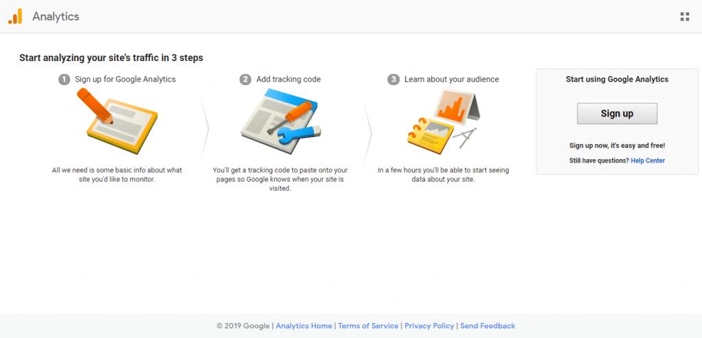 ابزار تست سرعت سایت گوگل آنالیتیکس