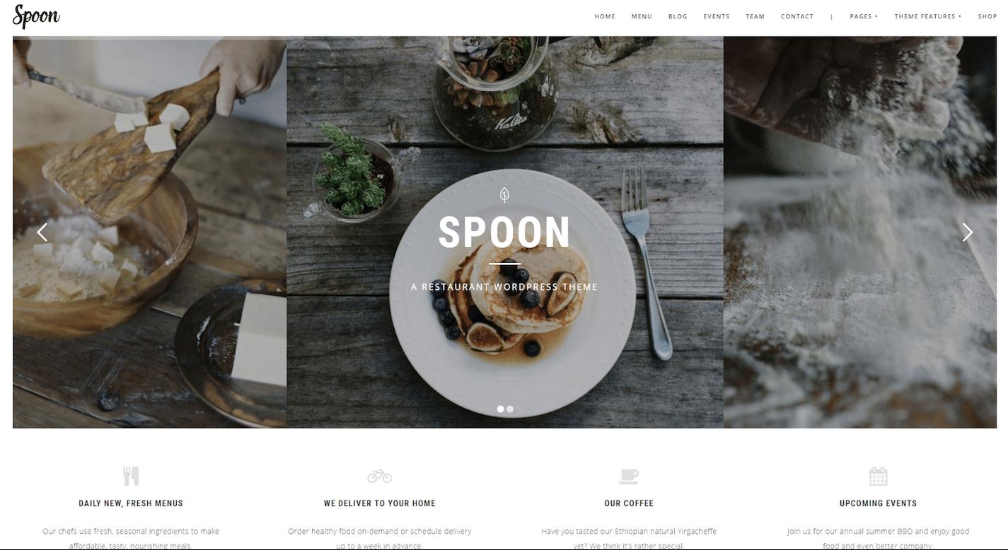قالب وردپرس Spoon