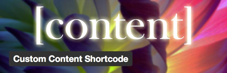 افزونه Custom Content Shortcode