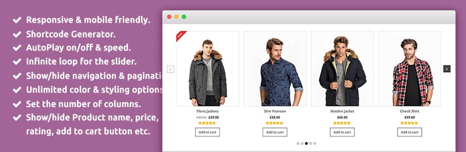 افزونه WooCommerce Product Slider