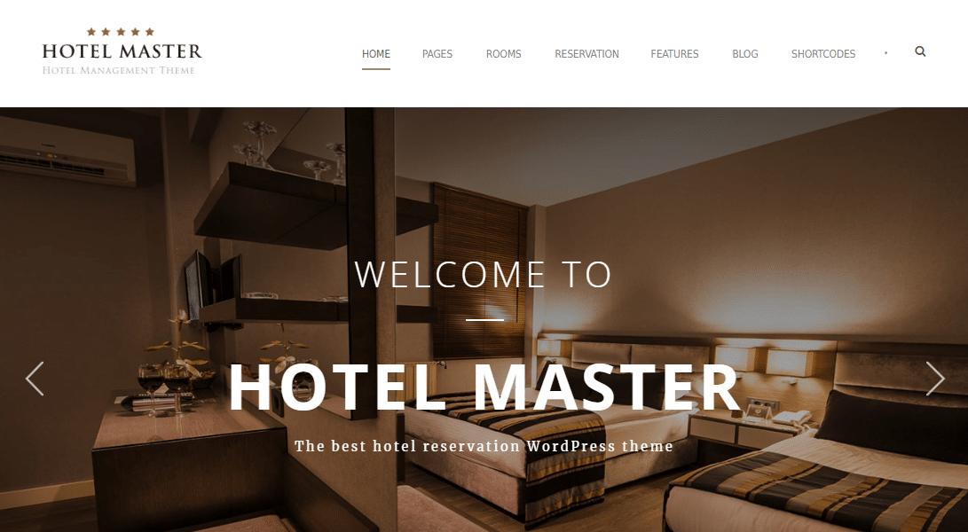 قالب Hotel Master