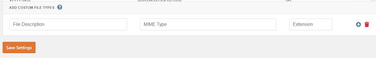 آپلود فایل با فرمت دلخواه در وردپرس