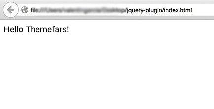 تست افزونه jQuery