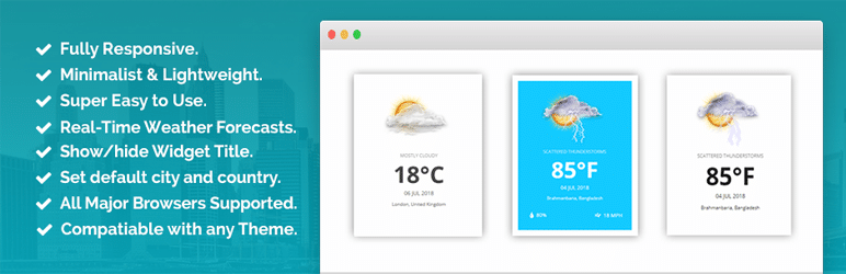 افزونه ابزارک آب و هوا Location Weather