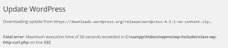 خطا Maximum PHP Execution Time Exceeded