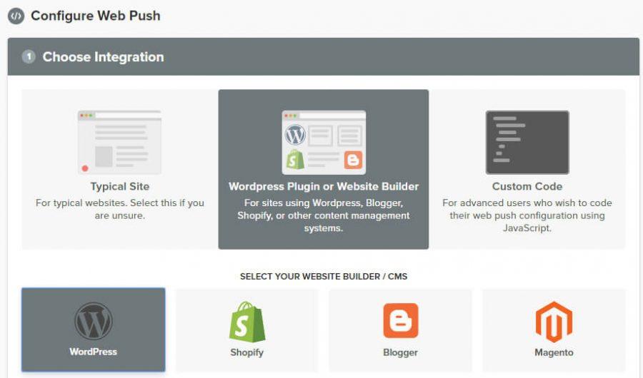دکمه WordPress Plugin or Website Builder