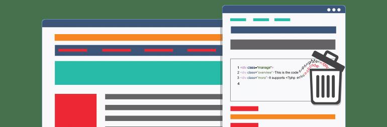 حذف شورت کدهای غیر فعال از وردپرس