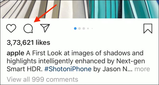 حذف کامنت اینستاگرام در اندروید و آیفون