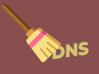 پاک کردن کش DNS