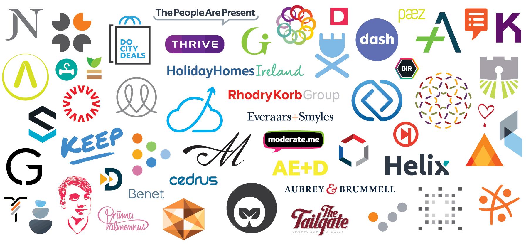 الهام گرفتن برای طراحی لوگو سایت