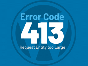 رفع خطای 413 Request Entity Too Large