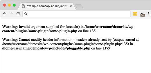 خطای Pluggable.php
