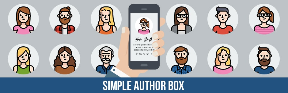 افزونه Simple Author Box