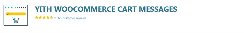 افزونه YITH Woocommerce Cart Messages