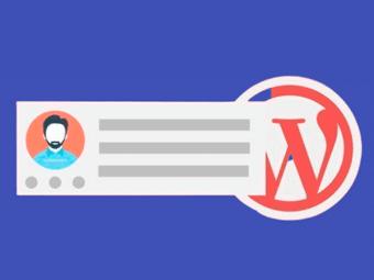 اضافه کردن جعبه درباره نویسنده به نوشته های وردپرس