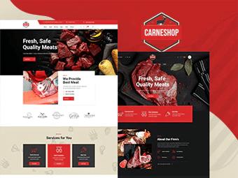 قالب CarneShop