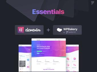 قالب Essentials