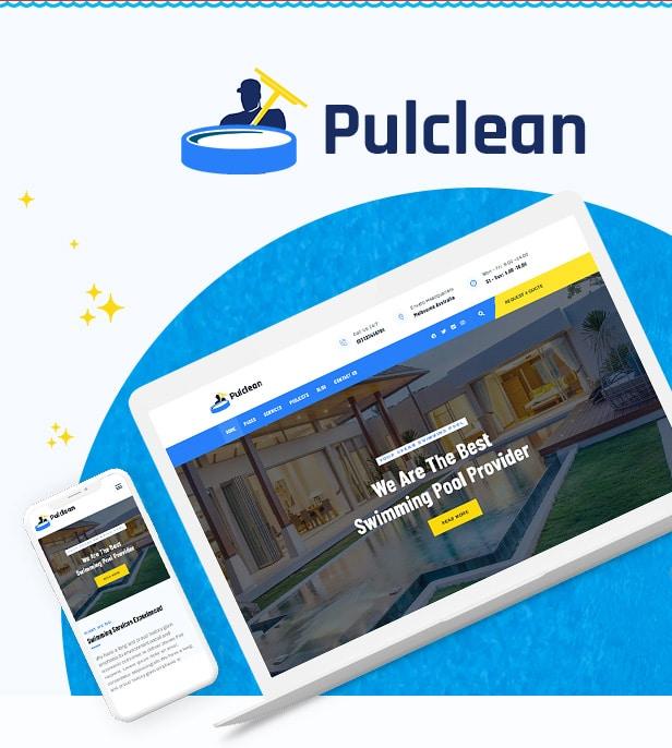 قالب Pulclean