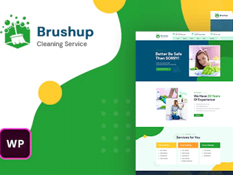 قالب Brushup