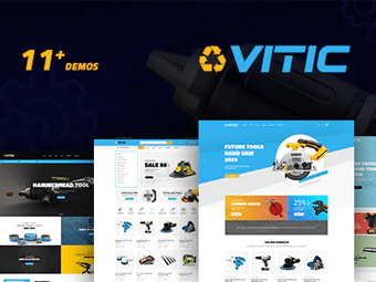 قالب Vitic