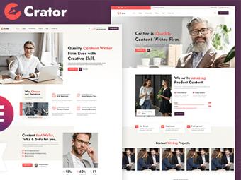 قالب Crator