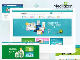 قالب Medilazar