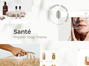 قالب Santé