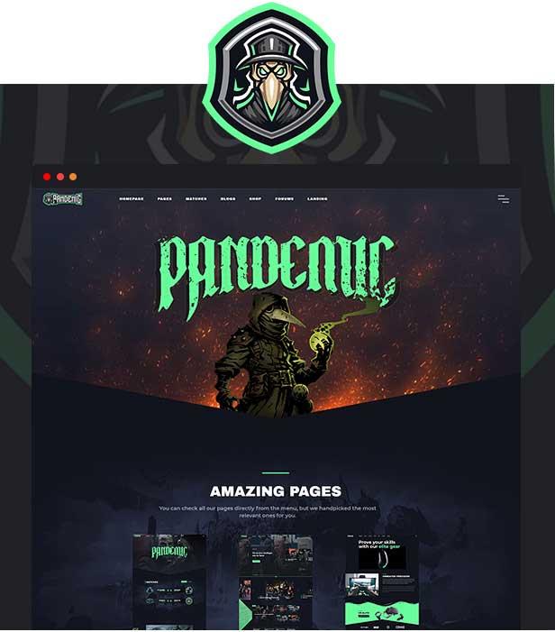 قالب Pandemic