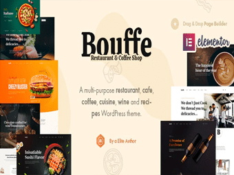 قالب Bouffe